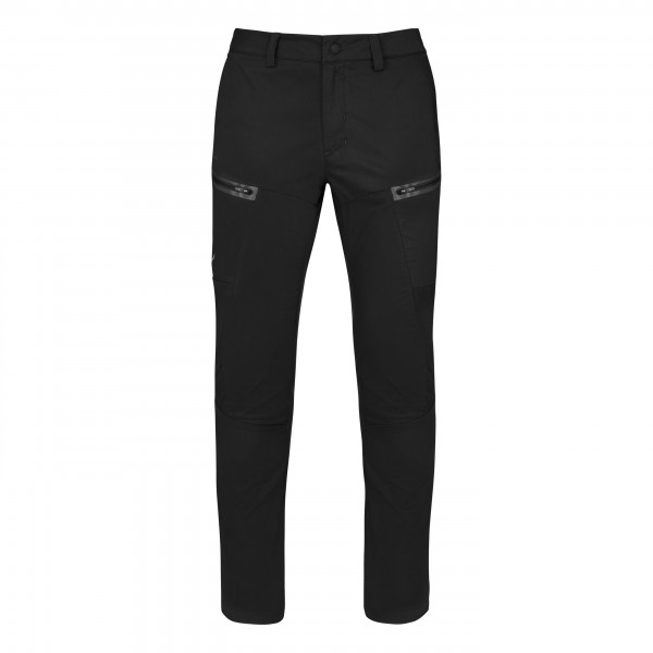 Salewa Herren-Softshellhose Fanes Wool DST M in black out
